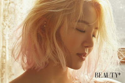 Hyoyeon SNSD Girls Generation Beauty Plus April 2016