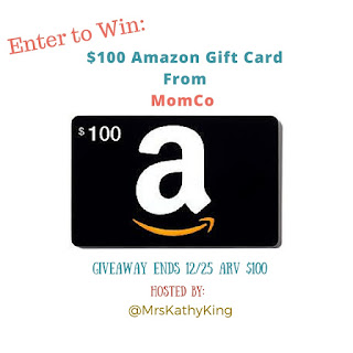 Enter the MomCo Amazon Gift Card Giveaway. Ends 12/25