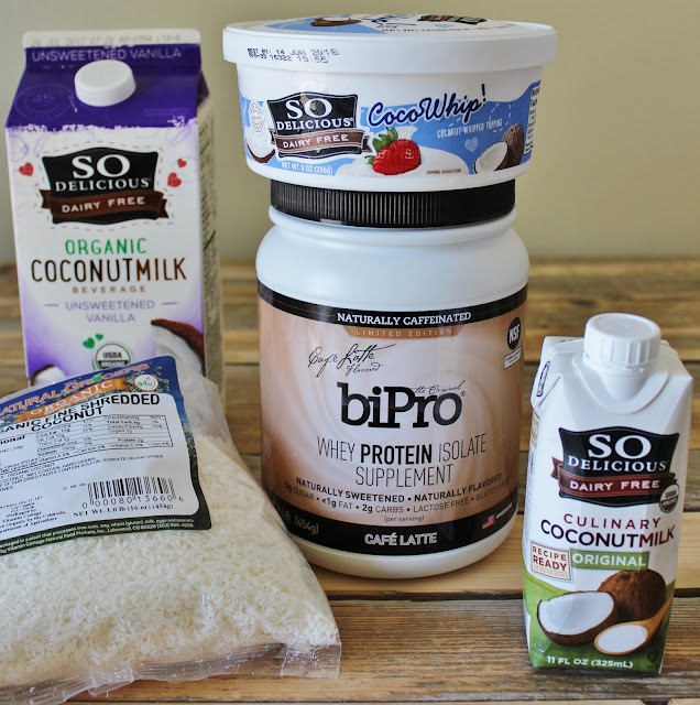 Coconut Dream Iced Protein Latte Ingredients