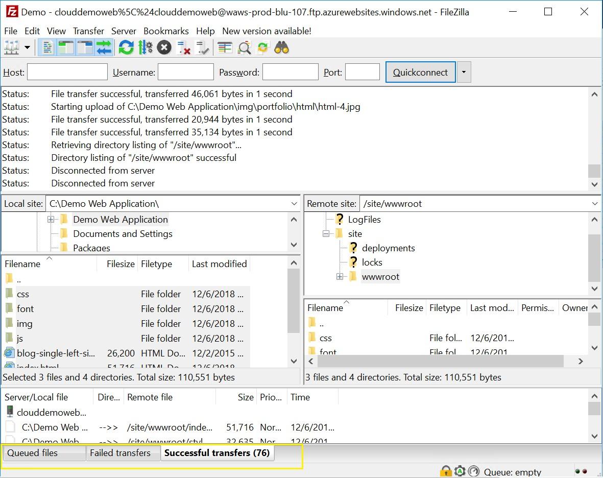 Solution Mandi - Cloud & Big Data !: Deploy static HTML web