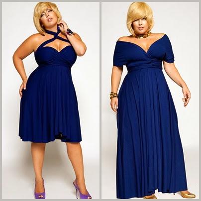 modelo de vestido curto com decote para gordinha