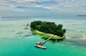 pulau semak daun di Pulau seribu