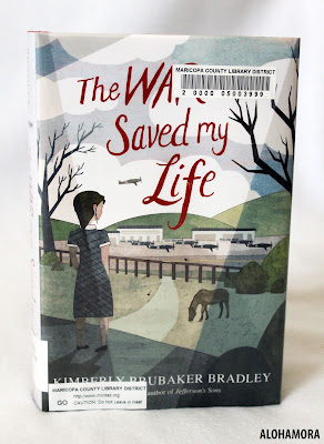 The War that Saved my Life by KImberly Brubaker Bradley book review of this Newbery Honor book.  This book and audiobook is AMAZING!  5/5 stars in this book review. Great character development, great story, well written, and all around great read.  Good read aloud for 4th, 5th or 6th grade.  Great book for a reader and those that love WWII historical fictions.  This middle grade fiction/juvenile literature is great book for 4th-8th grade readers.  Great book club choice too! Alohamora Open a Book https://alohamoraopenabook.blogspot.com/