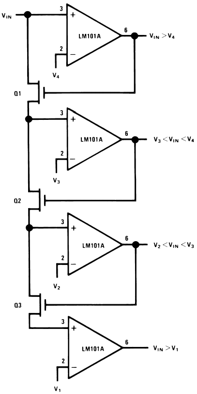 op amp circuit collection basic circuits