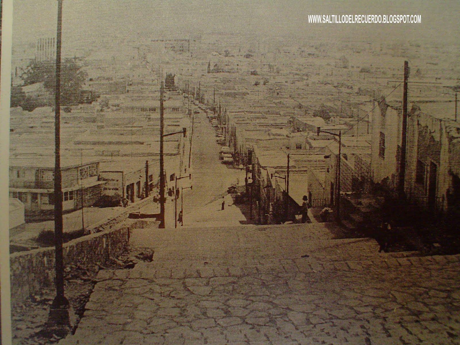 Saltillo Del Recuerdo El Barrio De Santa Anita
