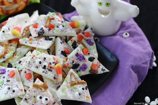 Spooky Bark recipe from Served Up With Love