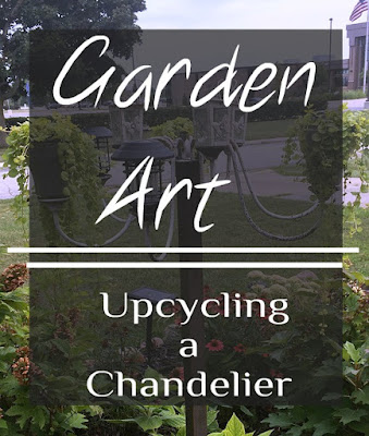 Garden Art for Flowerbeds; adding that architectural element to the garden.