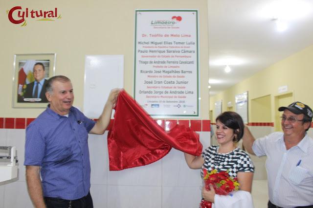 Loteamento Santana ganha novo PSF e moradores comemoram