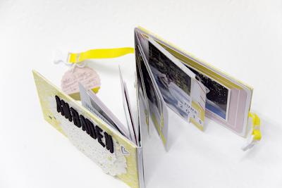 Minibook für Bloghop mit Anleitung