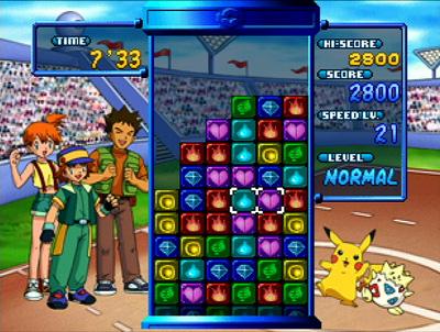 game like pokemon puzzle league