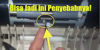 Cara Mengatasi paper jam tidak ada kertas mesin fotocopy canon IR