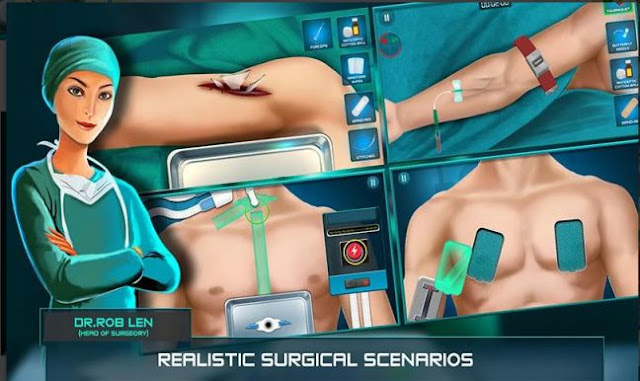 Game Operasi Bedah Surgeon Doctor 2018 APK