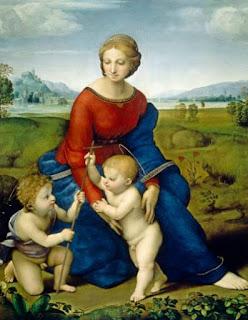 La Madone à la prairie - Raffaello Sanzio