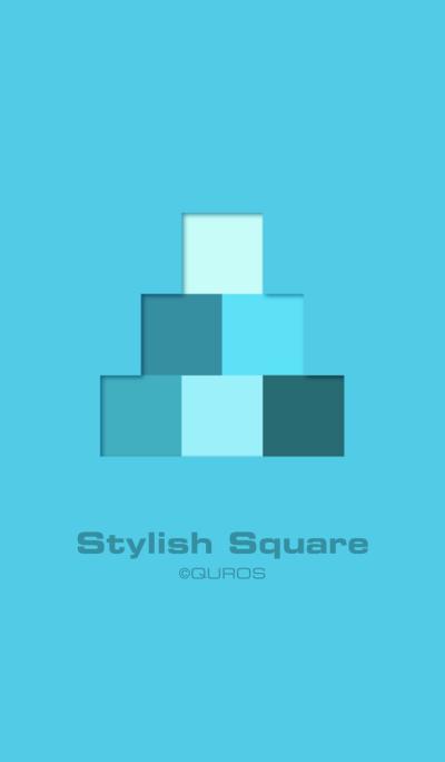 Stylish Square (blue ver.)