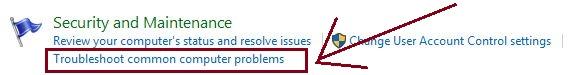 Trobleshoot common Computer problems