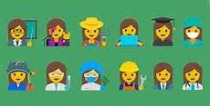 Latest emoji for women