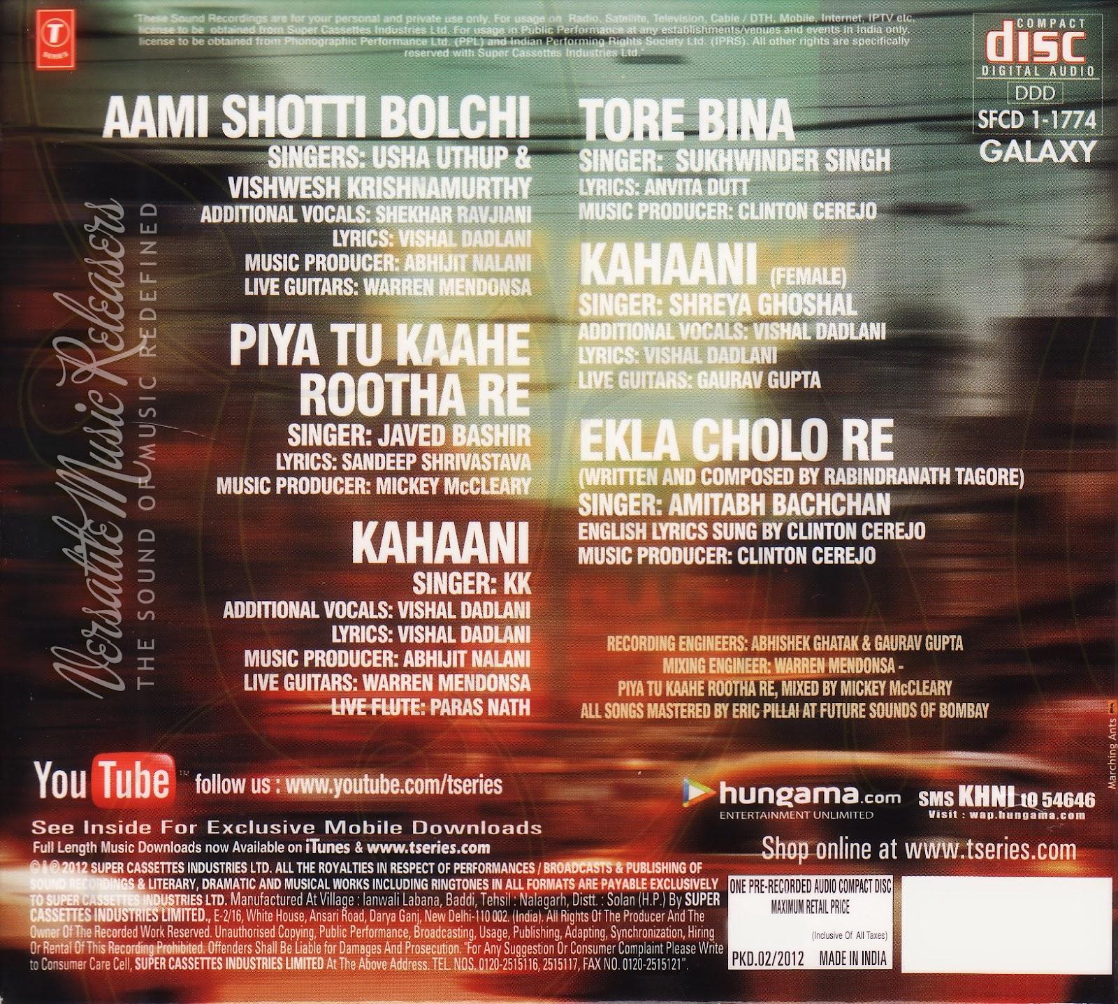 Ekla chalo re lyrics [bengali | rom | eng] | shreya ghoshal youtube.