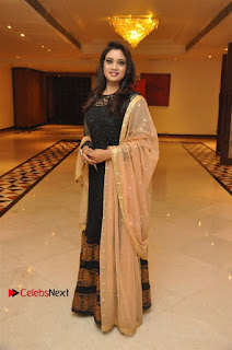 South Indian Celebrities Pos at Love For Handloom Collection Fashion Show  0097.jpg