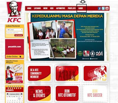 Cara Melamar kerja Di KFC Indonesia Secara Online