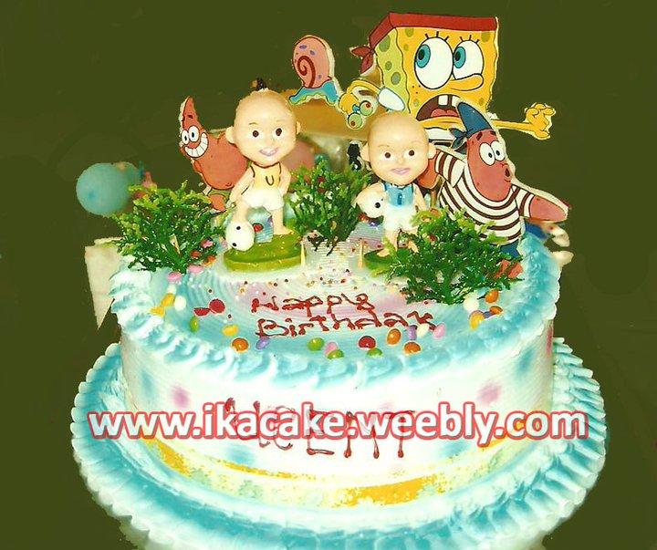 Kue Ulang Tahun Upin Ipin K 050