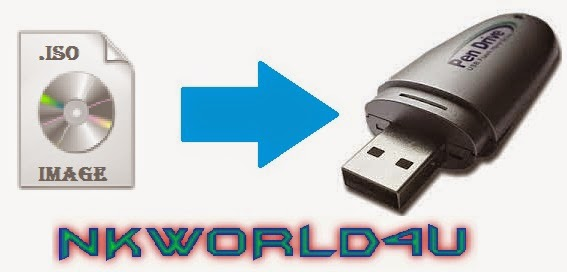 MAKE WINDOWS BOOTABLE PEN DRIVE FROM .ISO IMAGE FILE