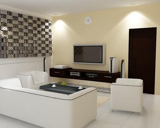 desain ruang tamu minimalis yang sempit tapi nyaman