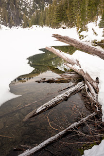 Lake on Clayoquot Plateau