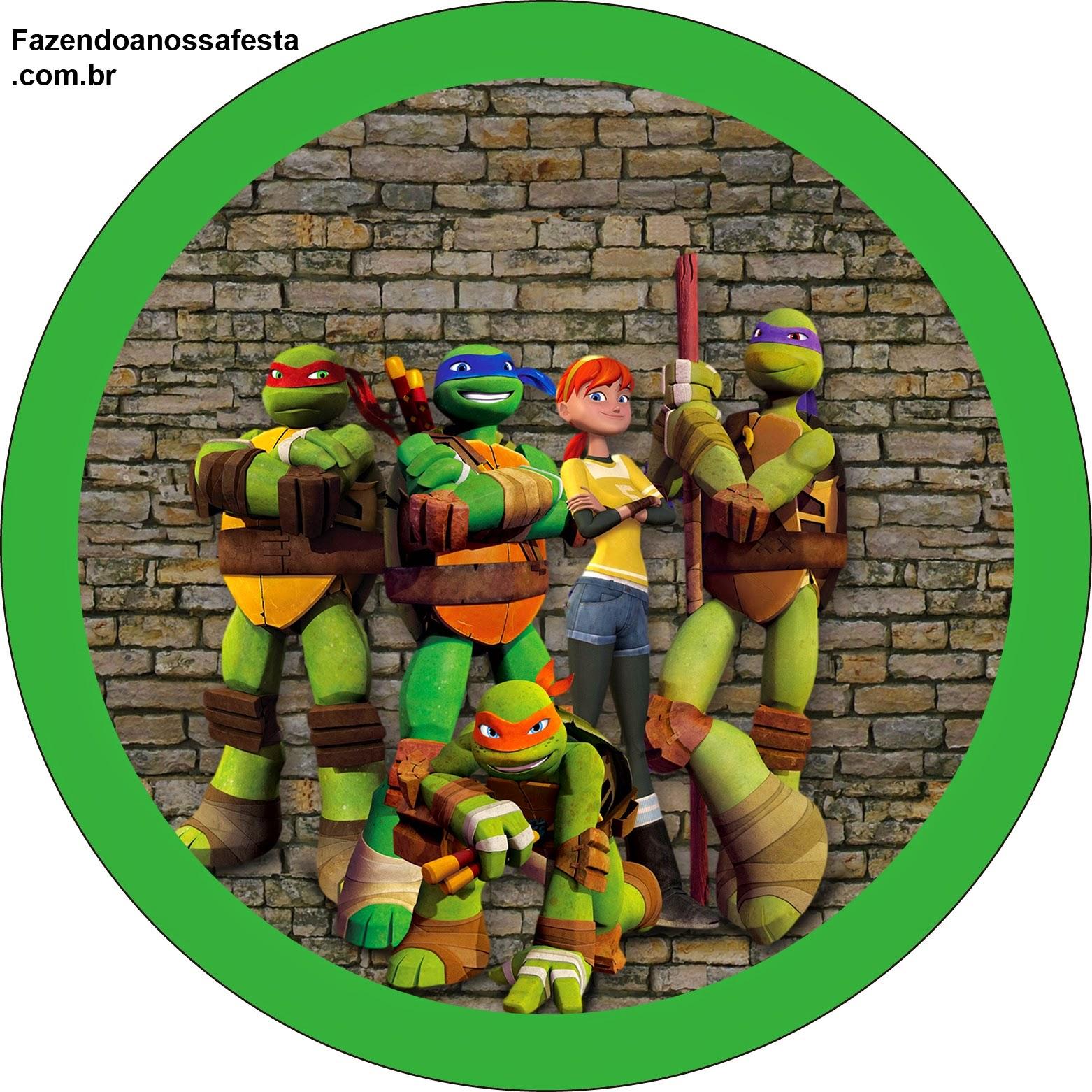 Tortugas Ninja: Etiquetas para Candy Bar para Imprimir Gratis ...