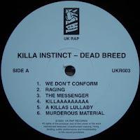Killa Instinct - 2002 - Dead Breed