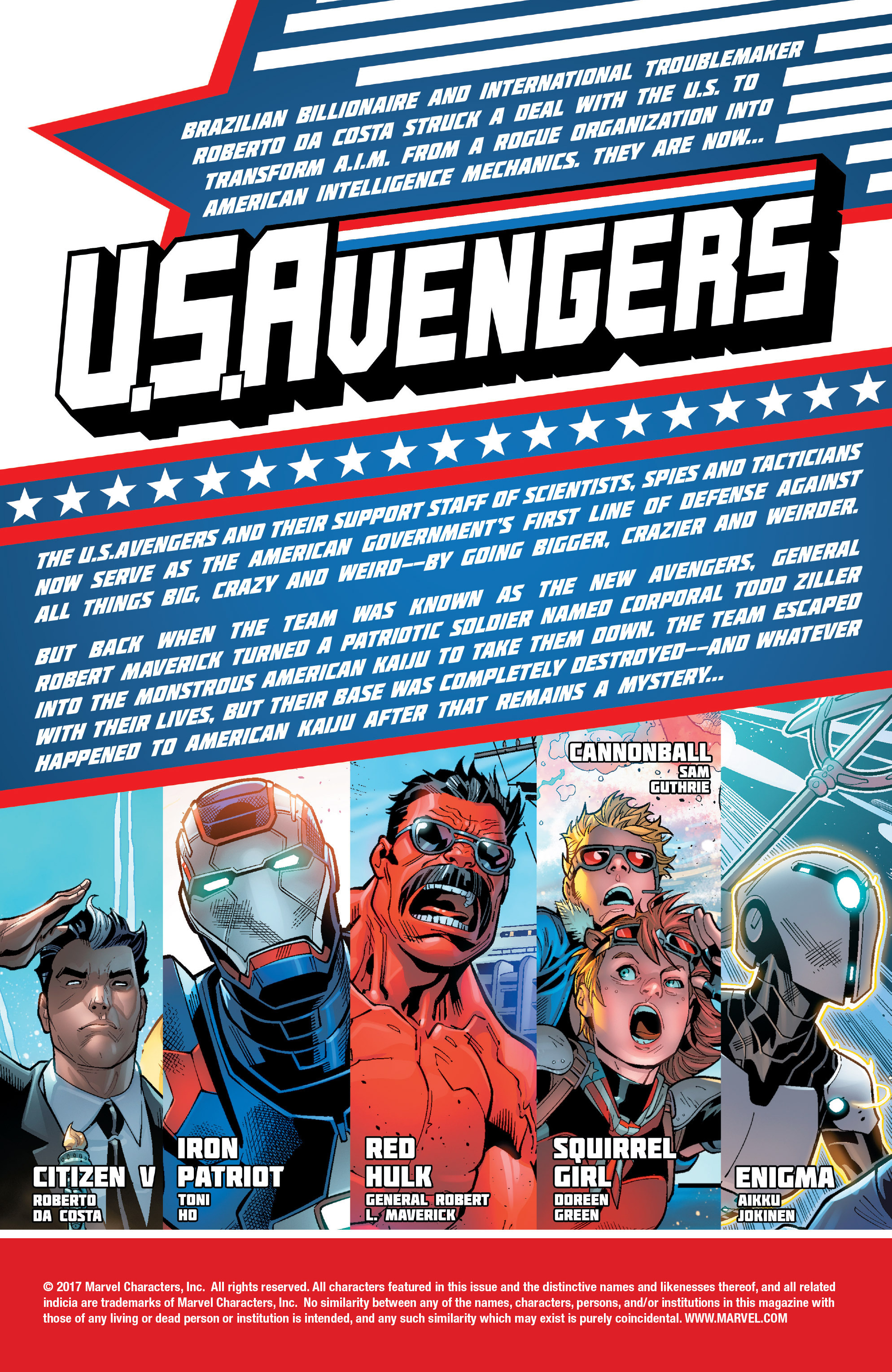 Read online U.S.Avengers comic -  Issue #4 - 2