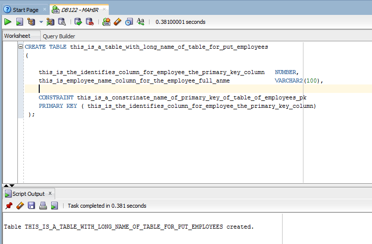 Super Oracle Database 12C Release 2 Long Identifiers Download Free Architecture Designs Intelgarnamadebymaigaardcom