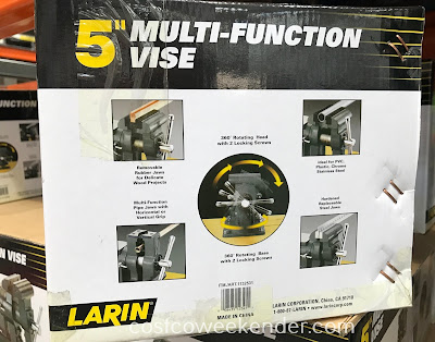 Costco 1132531 - Larin 5-inch Multi-function Vise: great for your home workshop
