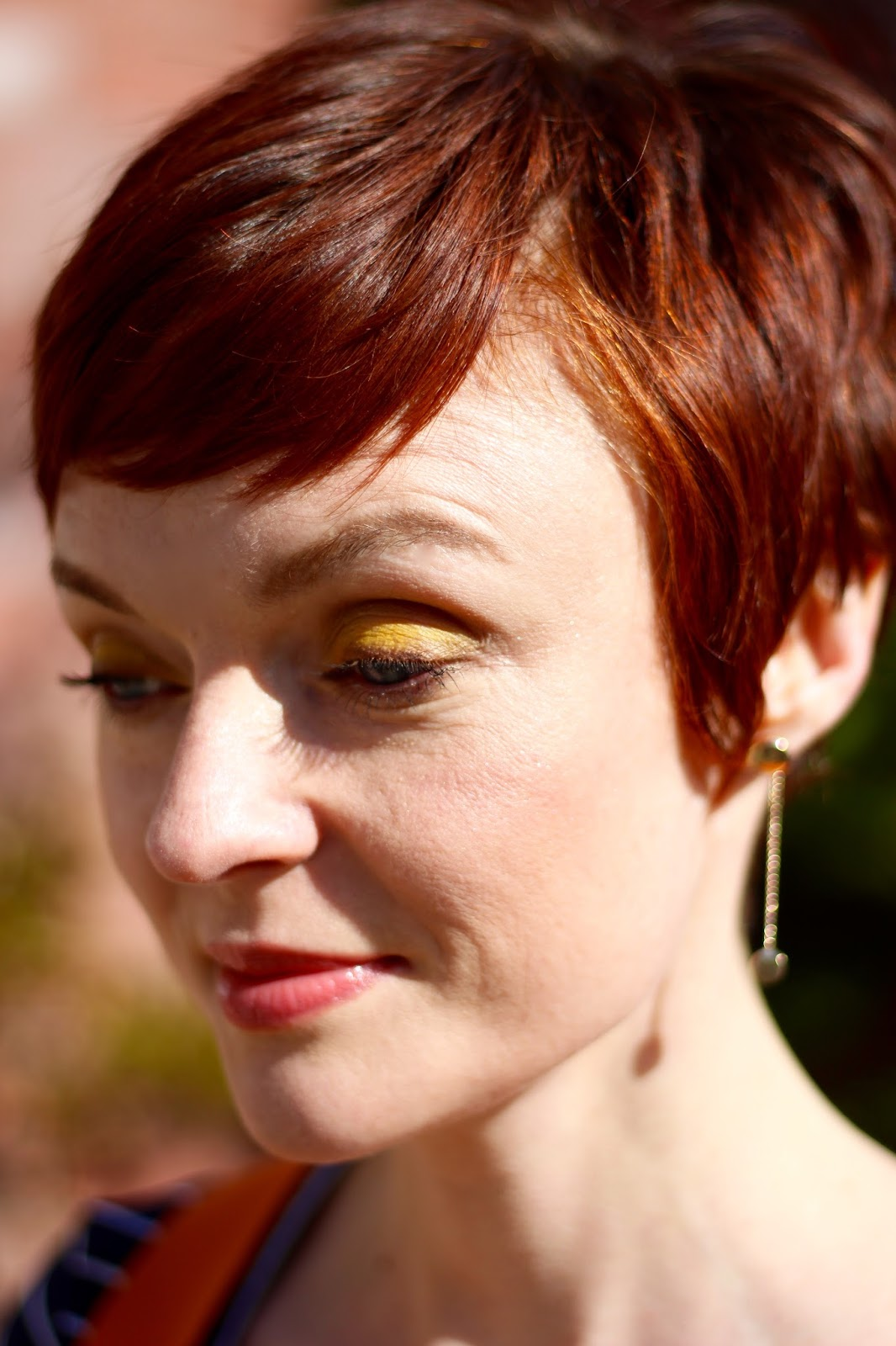 Yellow Eyeshadow (or any Bold Colour) Over 40
