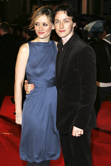 James Mcavoy With Wife Pictures 2011 | All About Hollywood
