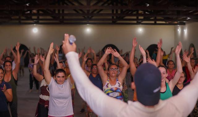 CAMOCIM:      SAÚDE Zumba Faz Sucesso e Estimula Hábitos Saudáveis em Camocim de São Félix.
