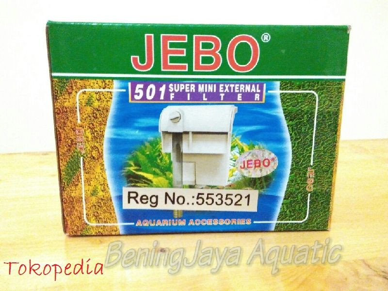 Gambar Filter Aquarium Air Tawar Jebo 501