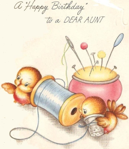 Kendrick Kennections Happy Birthday Aunt Genie
