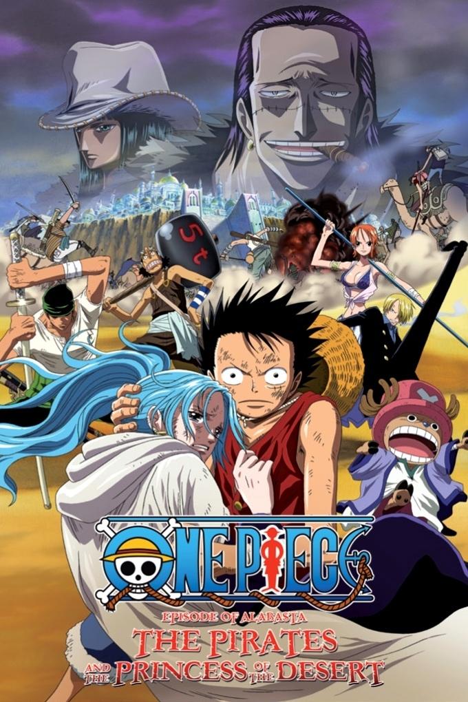 One Piece: La Saga de Arabasta – La princesa del desierto y los piratas (2007) |Castellano| |Película 08| |720p| |Mega 1 Link|