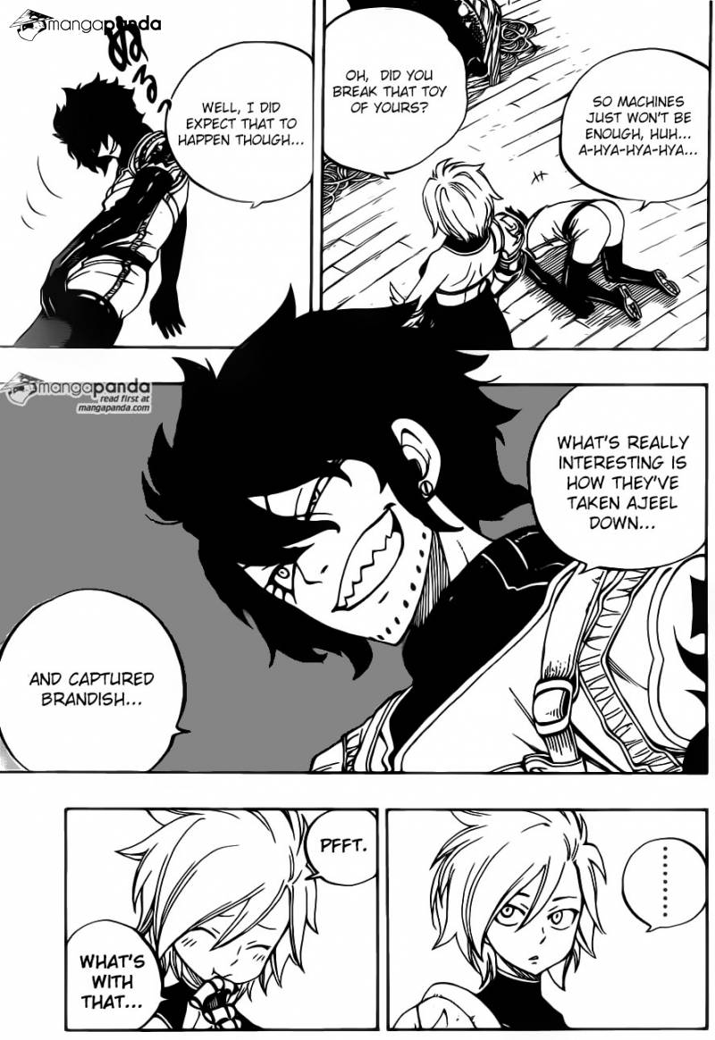 Fairy Tail Ch 461: That parfum is for somebody