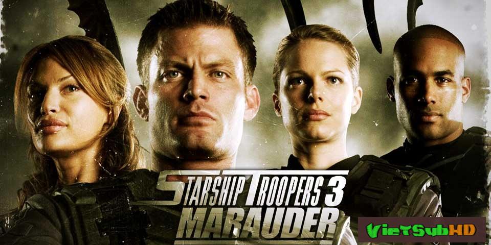 Phim Nhện Khổng Lồ 3 VietSub HD | Starship Troopers 3: Marauder 2008