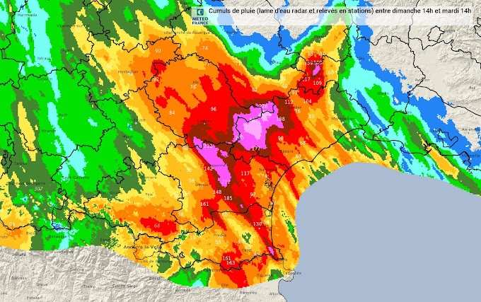 Inondations dans l'Aude : le bilan s'alourdit