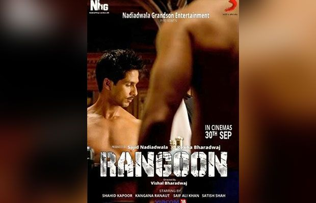 Bollywood 2nd Most Awaited movie Rangoon Budget: Crore, Lear star Shahid Kapoor, Saif Ali Khan, and Kangana Ranaut