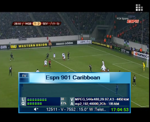 biss key ESPN Caribbean Caribbean 901 - Syndication 902 Telstar 12 @ 15°W 2018