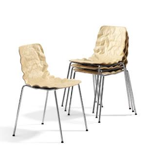 diseño de sillas de colores