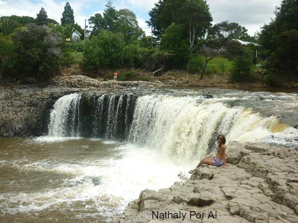 bay of island waterfall