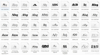 【下載】5000多個英文字型,美工設計、文書排版必備!