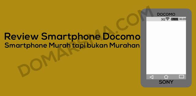 Review Smartphone Docomo