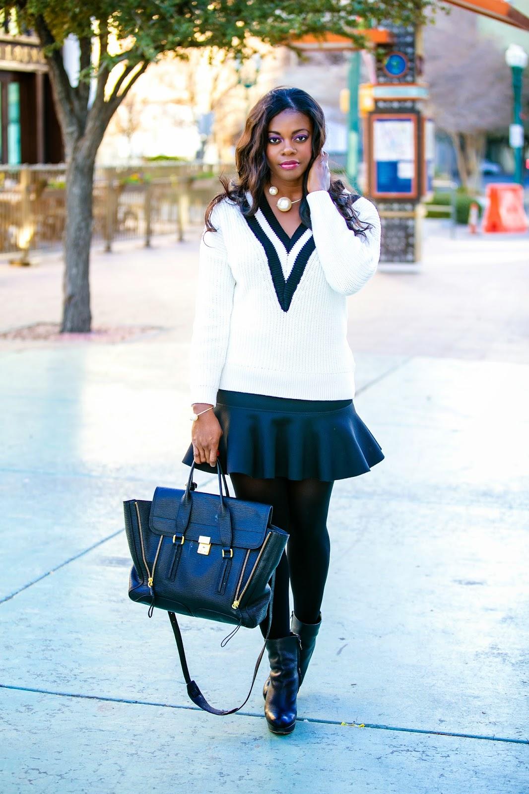 18cec29f9cbc35 Hello Yvonne: Black, White & Pearl!