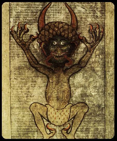 Lucifer Bible: Gardens Of Hecate: CXXV. The Codex Gigas Devil