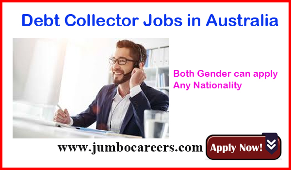 latest Australian Dept collector jobs for Indians, Recent job vacancies in Australian,